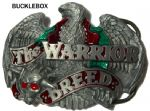 WARRIOR BREED Belt Buckle + display stand